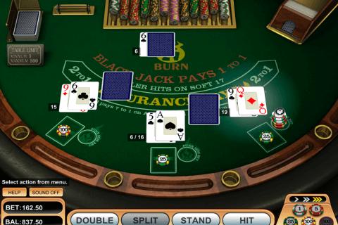 burn blackjack betsoft online