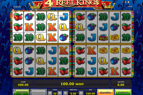 reel kings novomatic slot