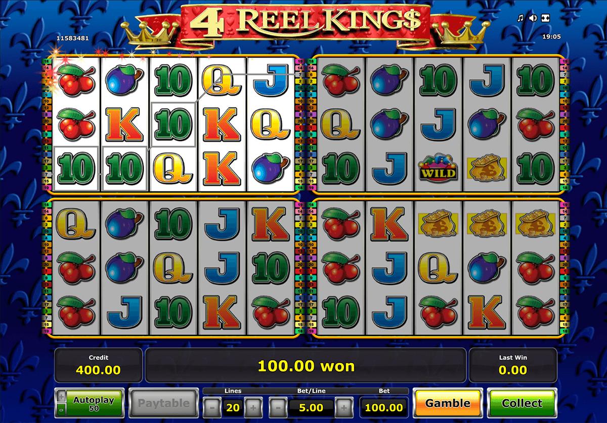reel kings novomatic slot