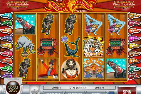 reel circus rival slot
