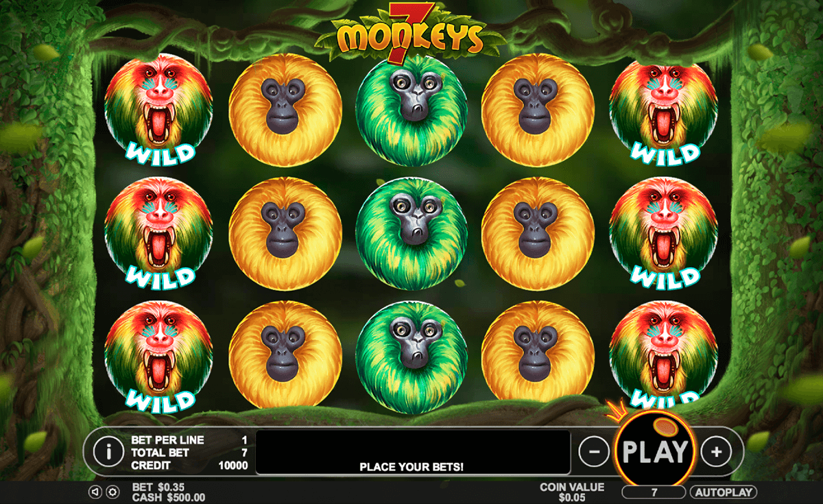 7 monkeys pragmatic slot