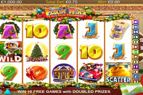 a very foin christmas netgen gaming slot