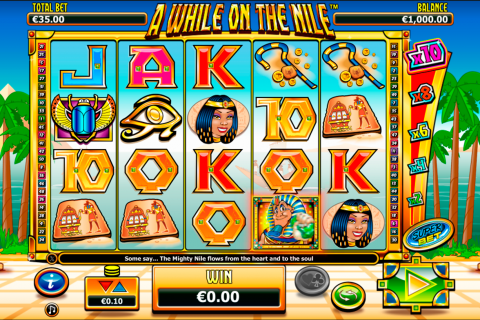 a while on the nile netgen gaming slot