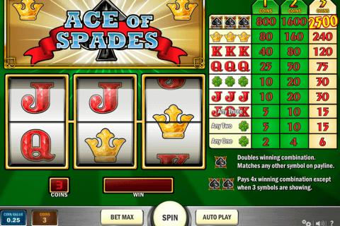 ace of spades playn go slot