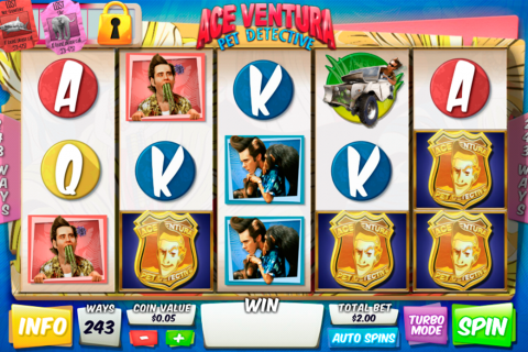 ace ventura pet detective playtech slot