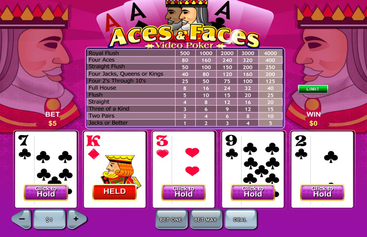 aces and faces playtech