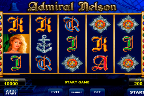 admiral nelson amatic slot