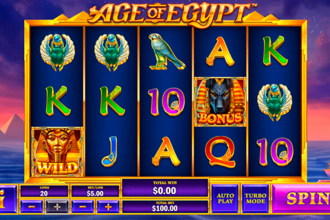 age of egypt playtech slot