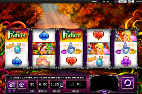 alice and the mad tea party wms slot