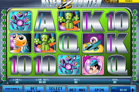 alien hunter playtech slot