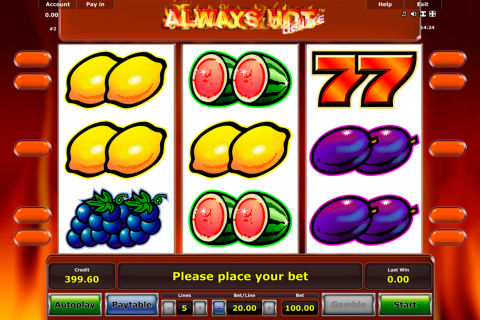 always hot novomatic slot