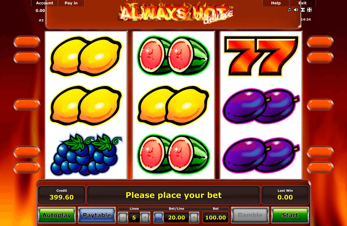 always hot novomatic slot