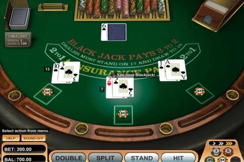 american blackjack betsoft online