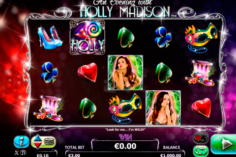 an evening with holly madison netgen gaming slot