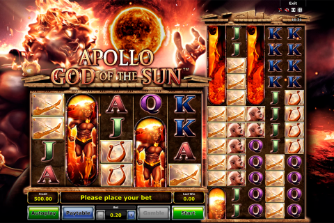 apollo god of the sun novomatic slot