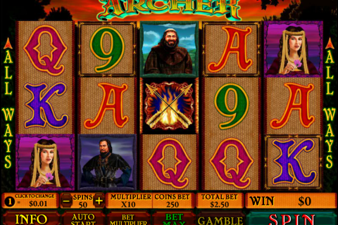 archer playtech slot