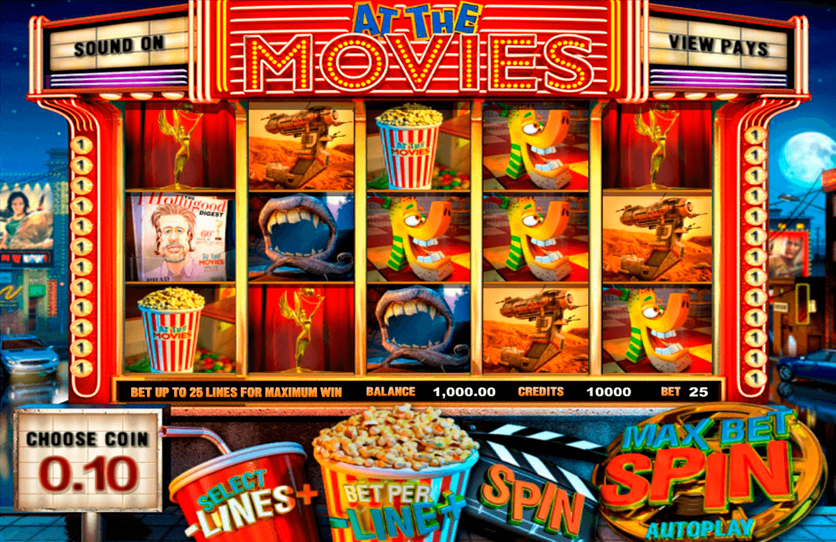at the movies betsoft slot