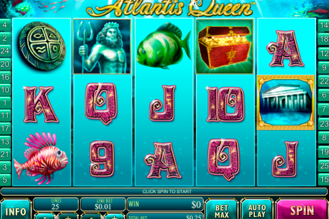 atlantis queen playtech slot