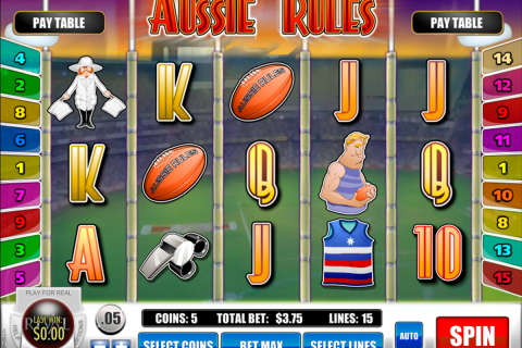 aussie rules rival slot