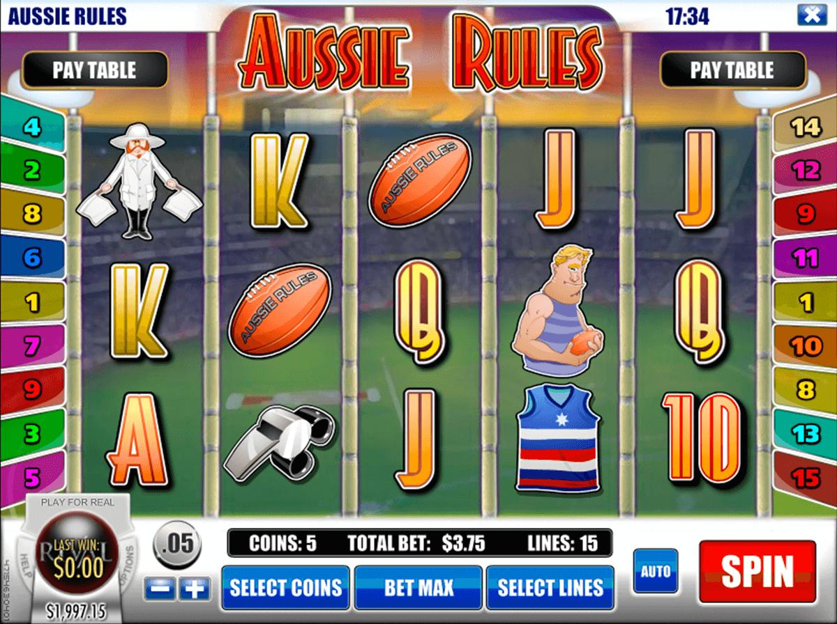 aussie rules rival slot