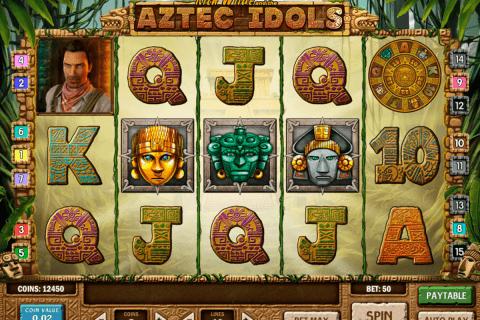 aztec idols playn go slot