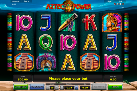 aztec power novomatic slot