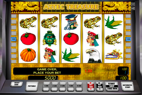 aztec treasure novomatic slot