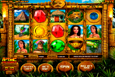 aztec treasures betsoft slot