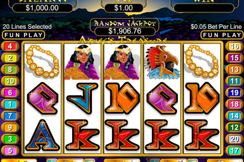 aztecs treasure rtg slot