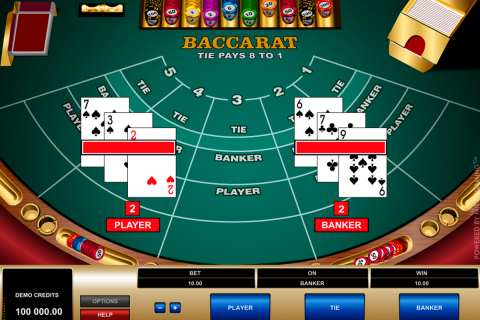 baccarat microgaming online