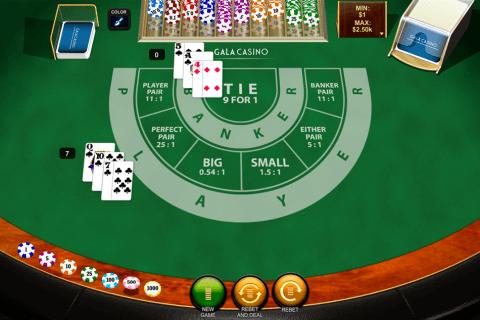 baccarat playtech online