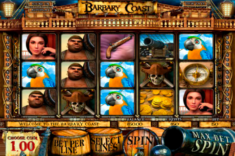 barbary coast betsoft slot