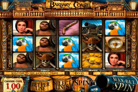 barbary coast betsoft slot