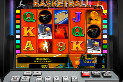 basketball novomatic slot