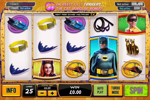 batman catwoman cash playtech slot