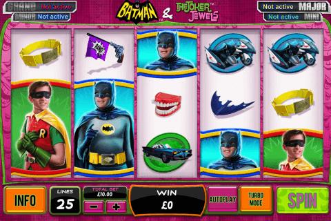 batman the joker jewels playtech slot