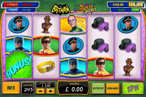 batman the riddler riches playtech slot