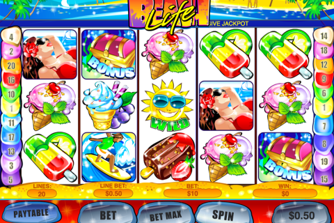 beach life playtech slot