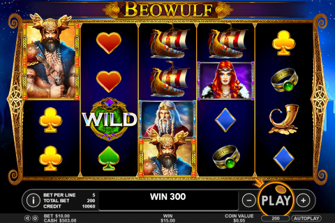 beowulf pragmatic slot