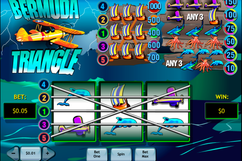 bermuda triangle playtech slot