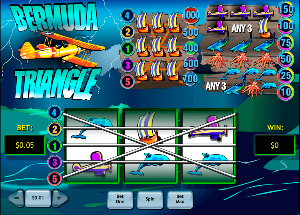 bermuda triangle playtech slot