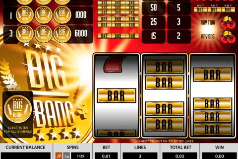 big bang pragmatic slot
