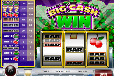 big cash win rival slot