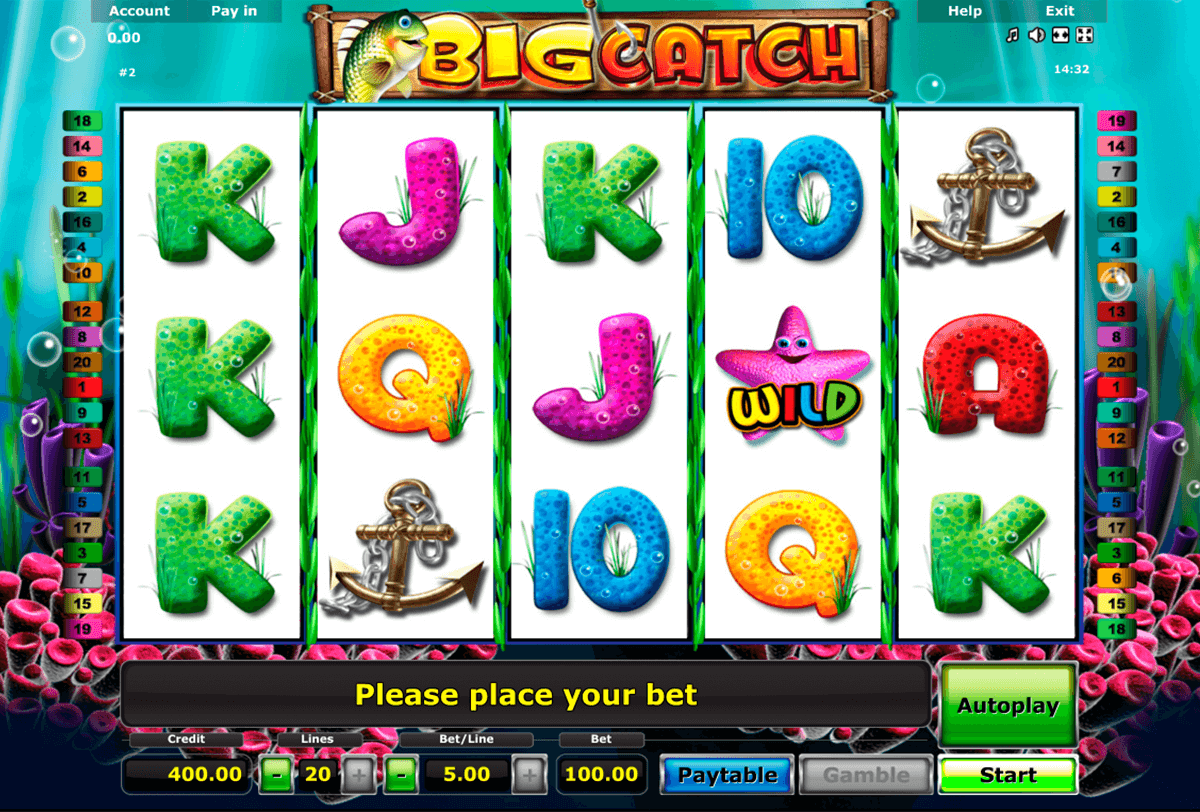 big catch novomatic slot