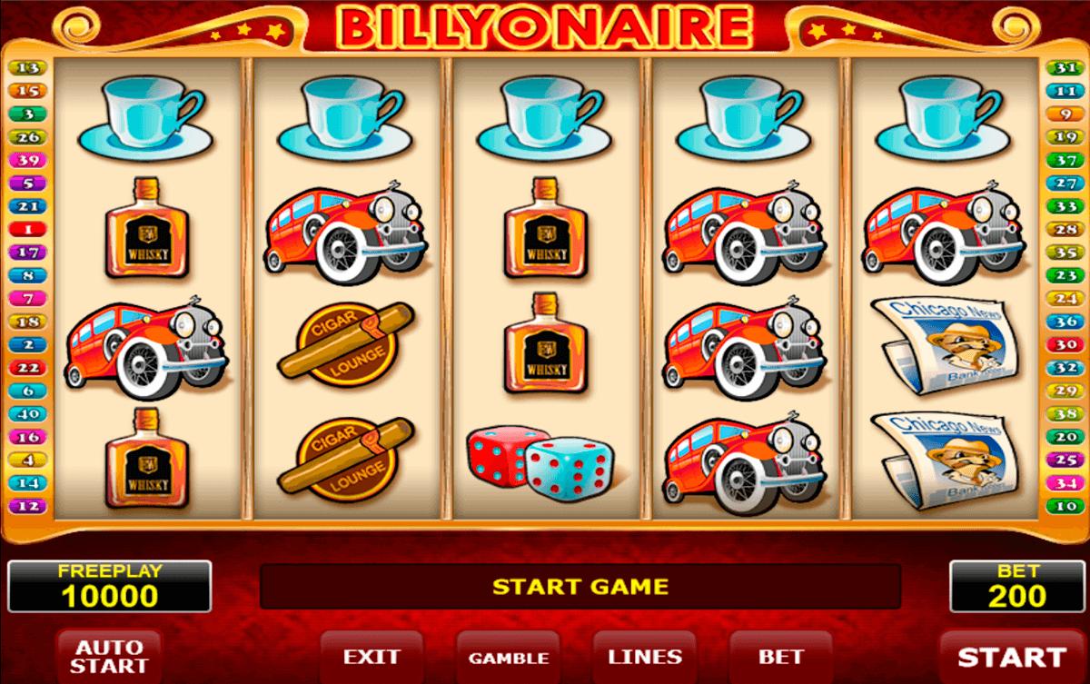 billyonair amatic slot
