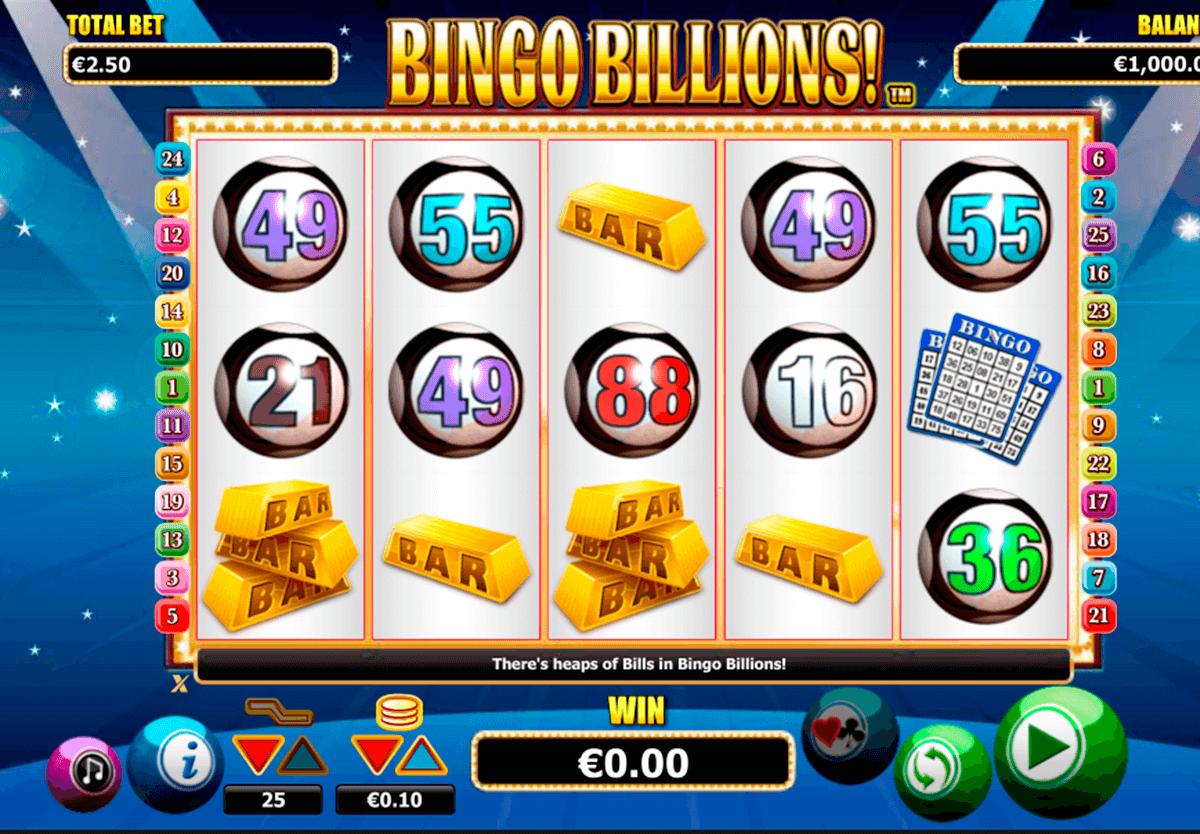 bingo billions nextgen gaming slot