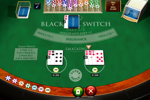 blackjack switch playtech online