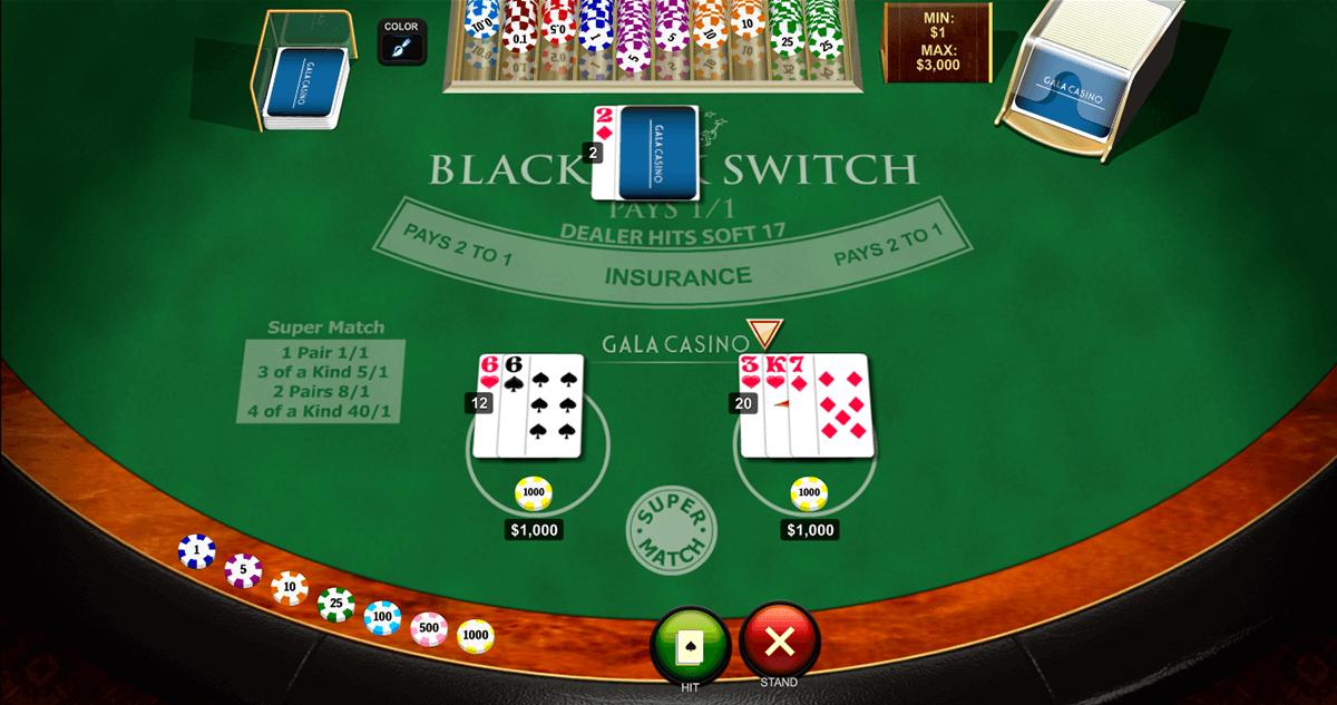 blackjack switch playtech online