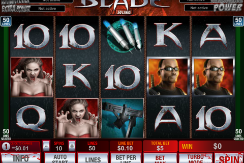 blade  lines playtech slot