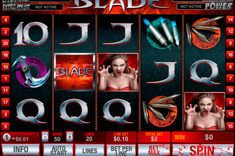 blade playtech slot